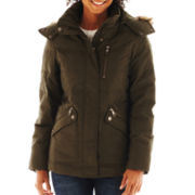 a.n.a® Zipper Pocket Puffer - Talls