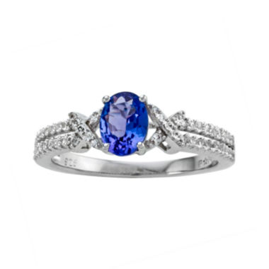 jcpenney.com | Genuine Tanzanite & Lab-Created White Sapphire Ring