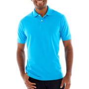 St. John's Bay® Solid Piqué Polo Shirt