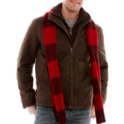 R&O Antique Jacket w/Fleece Double Collar