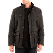 Rogue State™ Quilted Faux-Wool Coat
