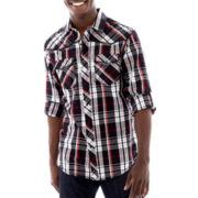 Chalc Plaid Woven Shirt