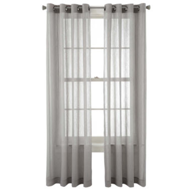 jcpenney.com | Studio™ Peyton Grommet-Top Sheer Panel