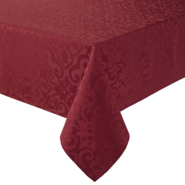jcpenney.com | Royal Velvet® Helmsley Damask Tablecloth