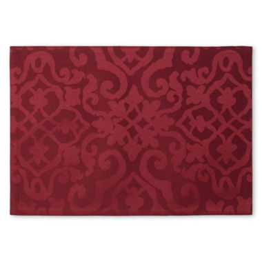 jcpenney.com | Royal Velvet® Helmsley Damask Set of 4 Placemats