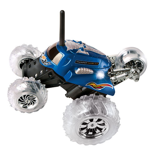Black Series Remote Control Thunder Tumbler Car
