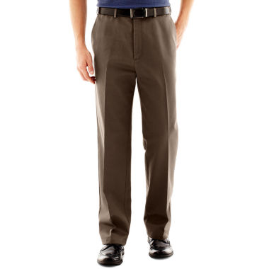 jcpenney.com | Haggar® Work to Weekend® Classic-Fit Flat-Front Khakis