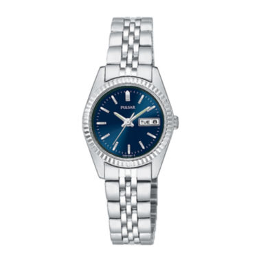 jcpenney.com | Pulsar® Womens Stainless Steel Bracelet Watch PN8001