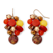 Mixit™ Boho Chic Cluster Earrings