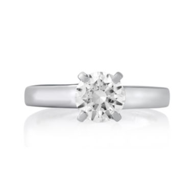 jcpenney.com | 1¼ CT. Round Diamond Solitaire Platinum Engagement Ring