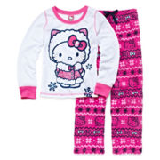 Hello Kitty® 2-pc. Pajama Set - Girls 4-10