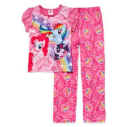 My Little Pony 2-pc. Heart Pajama Set - Girls 4-10