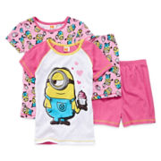 Despicable Me 4-pc. Pajama Set - Girls 4-10