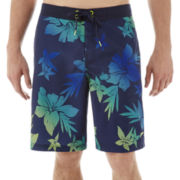 Speedo® Ombre Floral E-Board Shorts