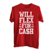 Will Flex For Cash Tee