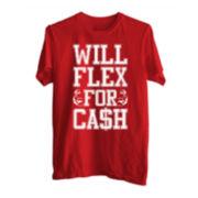 Will Flex For Cash Tee