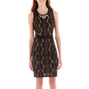 XOXO® Sleeveless Lace Dress