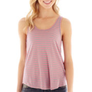 Arizona Sleeveless Striped Tank Top
