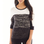 Alyx® 3/4-Sleeve Striped Sweater