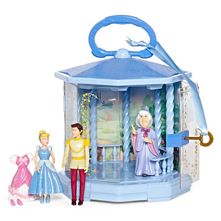 Disney Collection Cinderella Gazebo 6-pc. Play Set – Girls