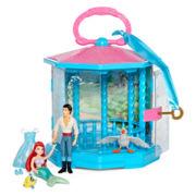 Disney Collection Little Mermaid Gazebo 7-pc. Play Set – Girls