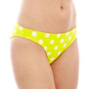 Arizona Polka Dot Hipster Swim Bottoms - Juniors