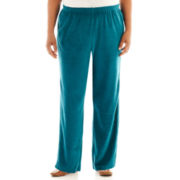 Alfred Dunner® Lake Ontario Pull-On Velour Pants - Plus