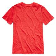 Arizona Short-Sleeve Basic V-Neck Knit Tee - Boys 8-20