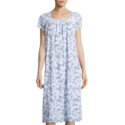Earth Angels® Short-Sleeve Long Nightgown