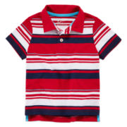 Arizona Striped Polo - Toddler Boys 2t-5t