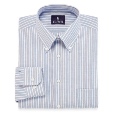 jcpenney.com | Stafford® Travel Wrinkle-Free Oxford Dress Shirt - Big & Tall