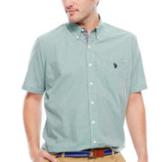 U.S. Polo Assn.® Short-Sleeve Button-Front Shirt