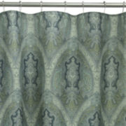 Bacova Landon Damask Shower Curtain