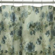 Bacova Landon Floral Shower Curtain
