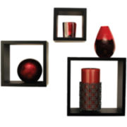 3-pc. Nested Wall Decor Cube Set