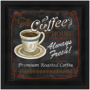 jcpenney.com | Coffee House Framed Canvas Wall Art