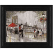 New York Romance Framed Wall Art