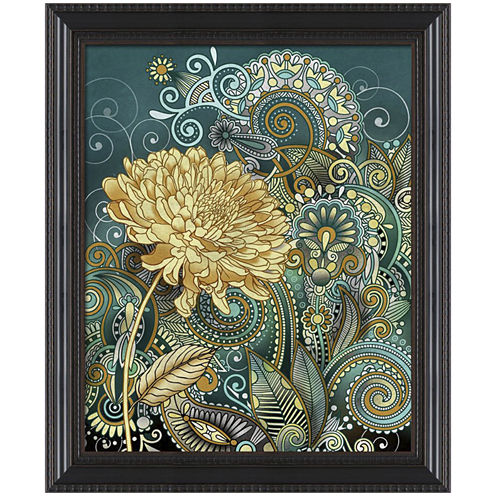 Inspired Blooms Framed Wall Art
