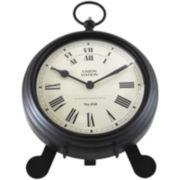 Station Pocket Watch Wall Clock