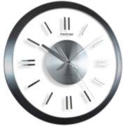 Modish Gunmetal Wall Clock