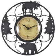 Wildlife Wire Wall Clock