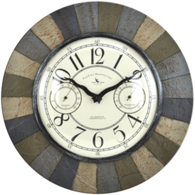 jcpenney.com | FirsTime® Slate Garden Wall Clock