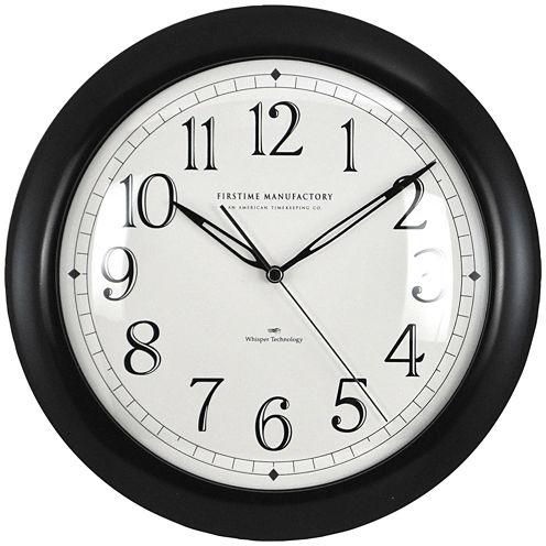 FirsTime® Slim Wall Clock