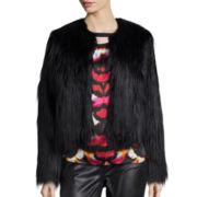 nicole by Nicole Miller® Faux-Fur Jacket