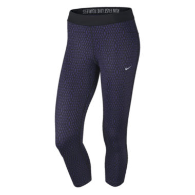 jcpenney.com | Nike® Printed Relay Cropped Pants