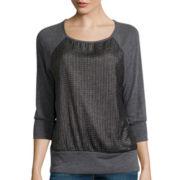 Alyx® 3/4-Sleeve Overlay Baseball T-Shirt