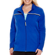 Made for Life™ Sporty Knit Collar Jacket - Plus