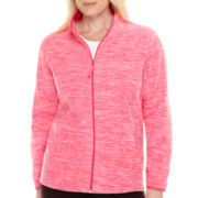 Made For Life™ Full-Zip Mélange Polar Fleece Jacket - Plus