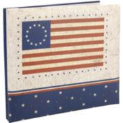 American Flag Postbound Album