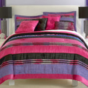 Seventeen® Trixie Striped Comforter Set